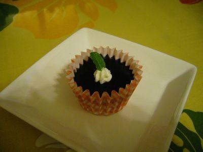 むらさき芋の焼プリン