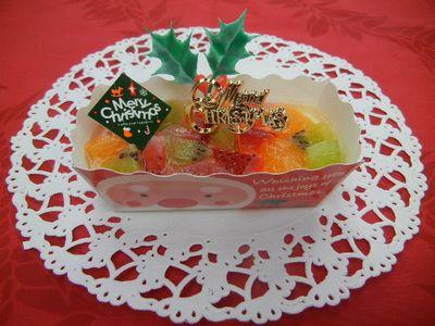 フルーツレアチーズケーキ
