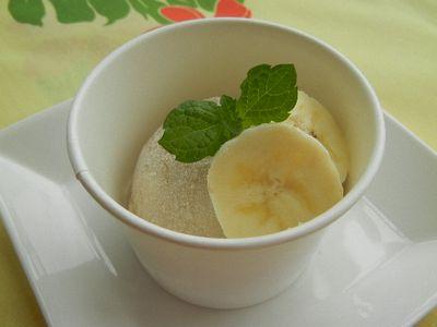 豆乳バナナアイスクリーム