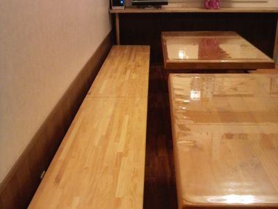ドッグカフェ店内