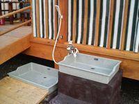 水のみ場&足洗い場