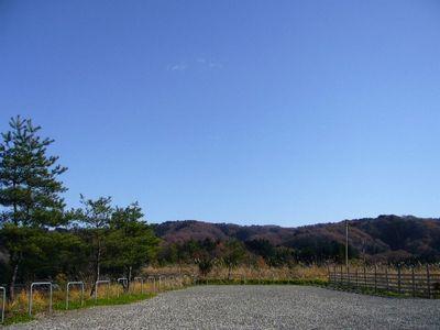 山々の紅葉