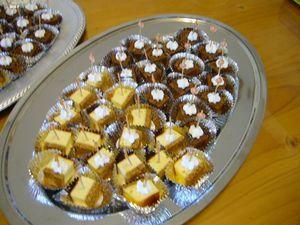 チョコブラウニー&チーズケーキ