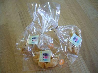 ミニおさかなクッキー