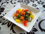 馬肉と季節の野菜スープS