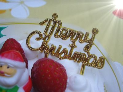 ワンクリスマスケーキ
