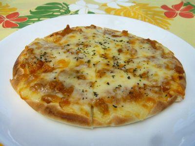 ピタピザ(カレー)