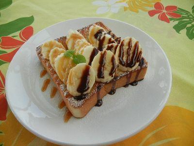 バナナハニートースト
