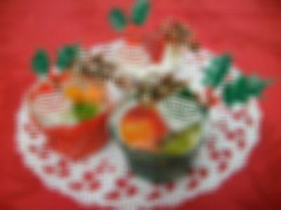 ワンちゃん用プチクリスマスケーキ