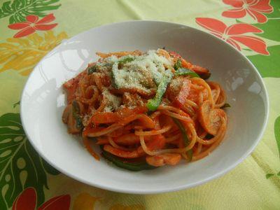 懐かしのナポリタンスパゲティ